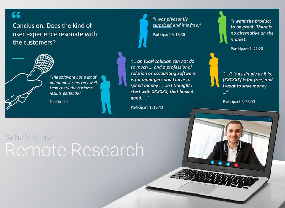 Remote User Research